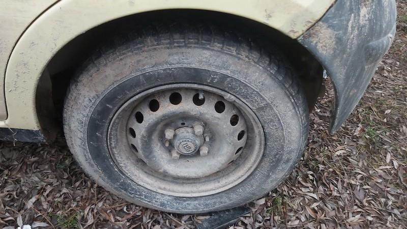 Skardiniu ratu komplektas R13 Fiat Panda 2005    1.1 used
