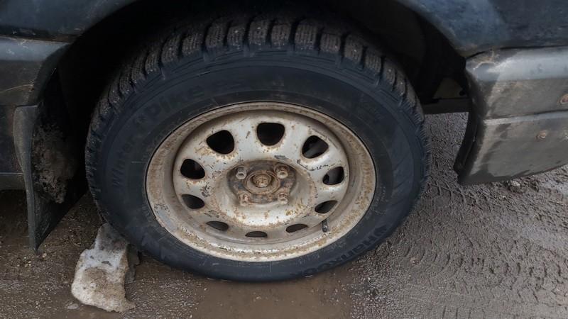 Skardiniu ratu komplektas R14 Volkswagen Passat 1991    1.9 used