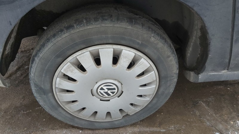 Skardiniu ratu komplektas R16 Volkswagen Sharan 2006    1.9 used