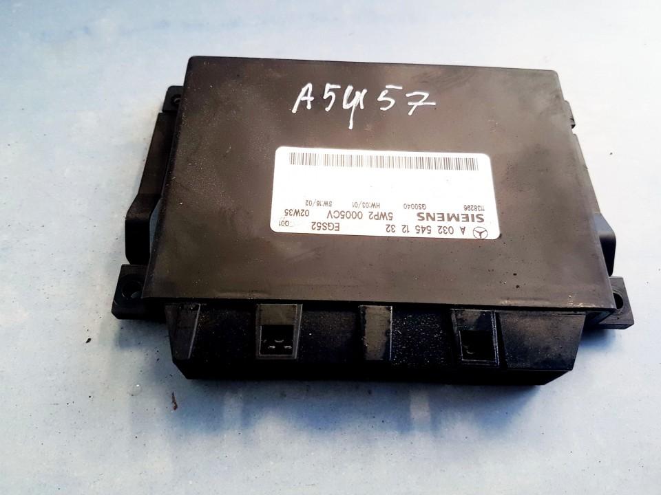 TRANSFER CASE CONTROL MODULE UNIT Mercedes-Benz C-CLASS 2002    2.2 A0325451232