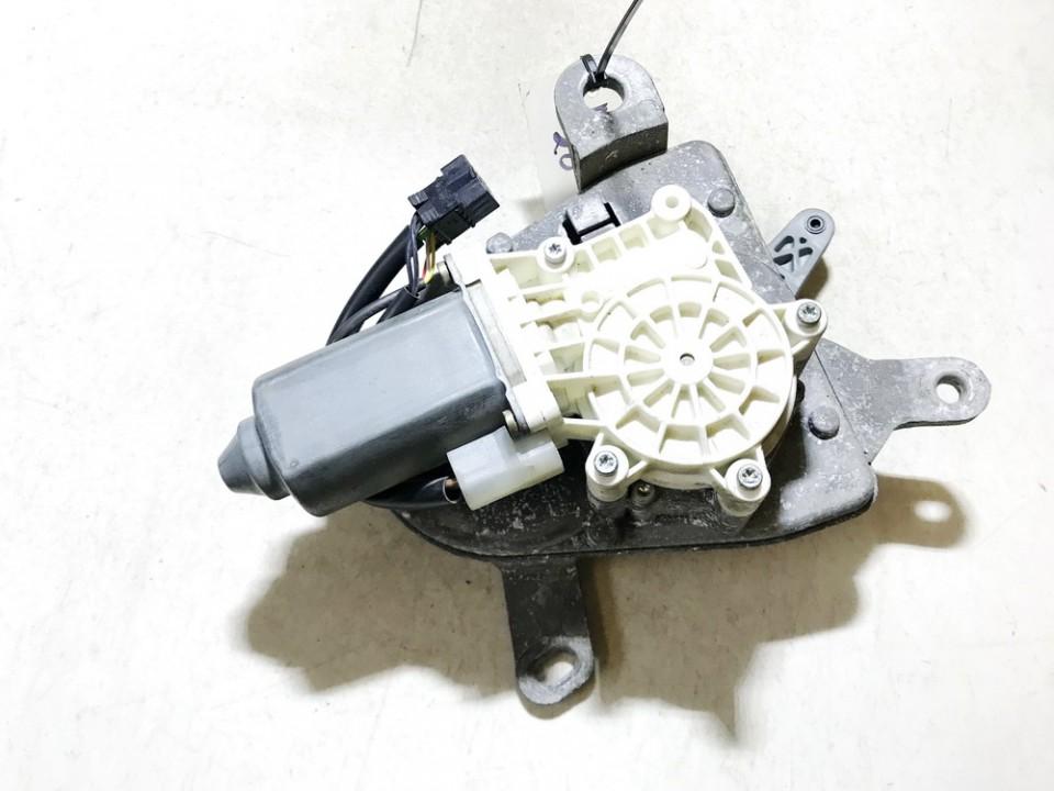 Galinio Dangcio atidarymo varikliukas (uzdarymo) Peugeot 607 2007    2.7 9655954680