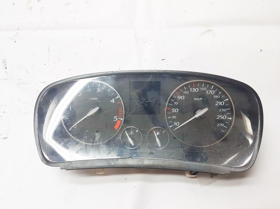 Renault  Laguna Spidometras - prietaisu skydelis