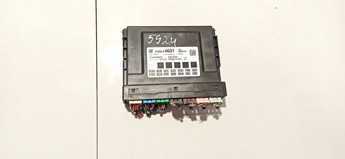 Kiti kompiuteriai 13514637 161111, f00hj01665, 121631600000zf91, 650446862 Opel ASTRA 1994 1.7