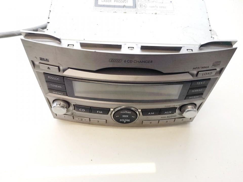 86201aj410 cq-ef1873ad Automagnetola Subaru Outback 2010 2.0L 45EUR EIS01005380
