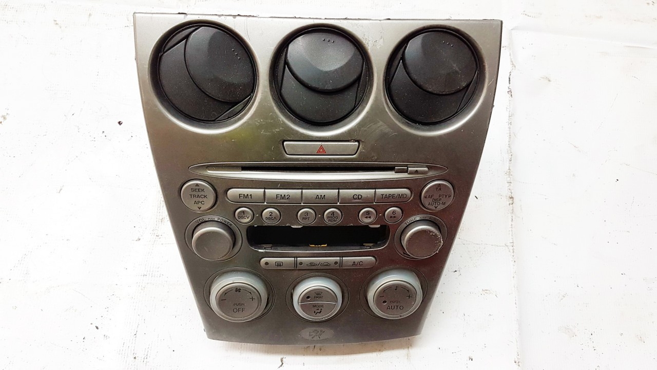 Peciuko valdymas ir automagnetola Mazda 6 2006    0.0 FF011068A