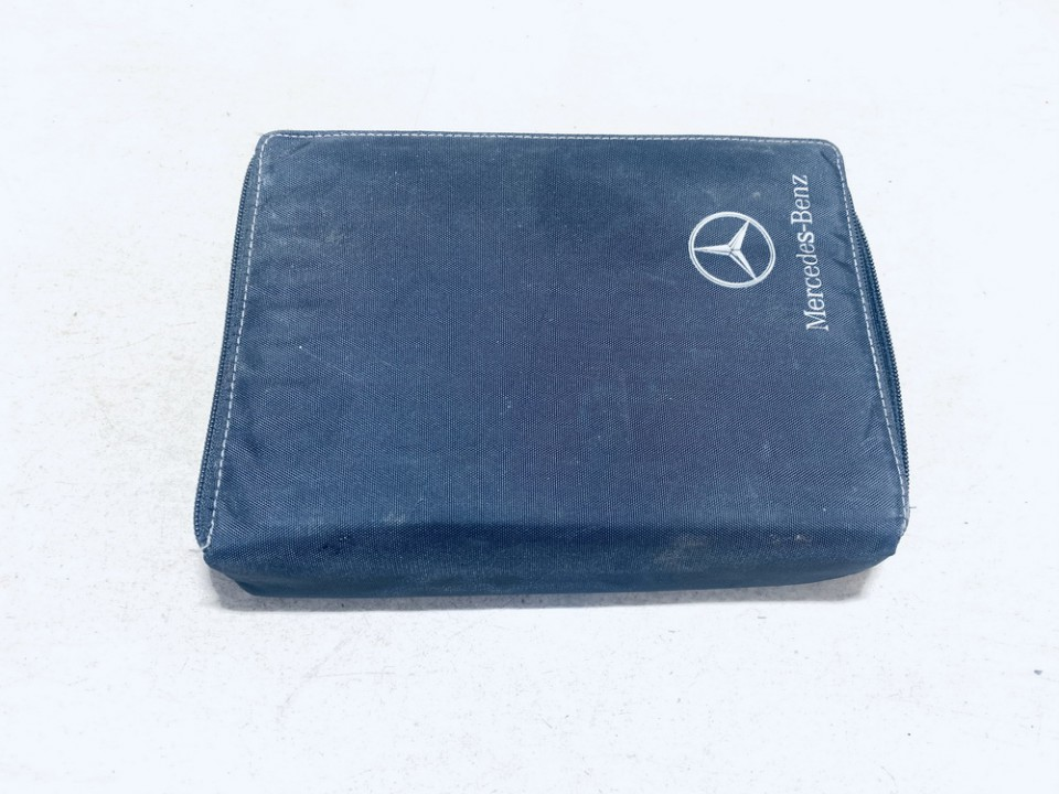 Manual Handbook Wallet (service manual) Mercedes-Benz CLK-CLASS 2008    3.2 used