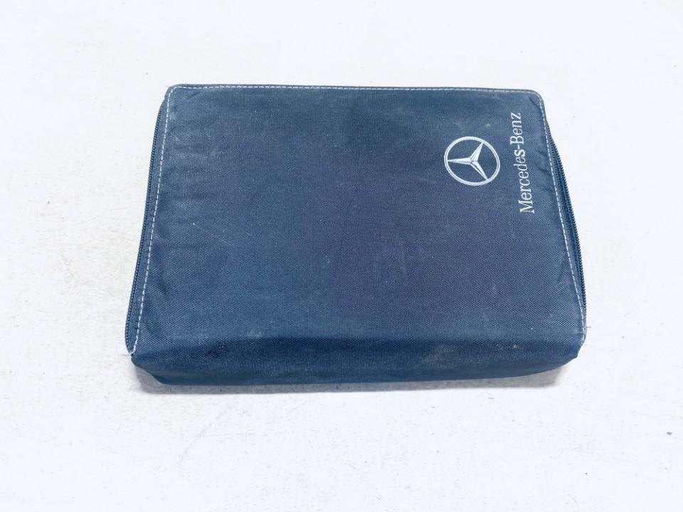 Prieziuros zinynas (Automobilio aptarnavimo knyga) Mercedes-Benz CLK-CLASS 2008    3.2 used