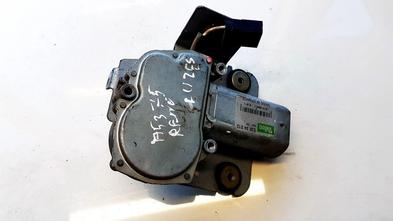 Rear wiper motor (Rear Screen Wiper Engine) 53004012 2/A-00011 Renault ESPACE 1993 2.2