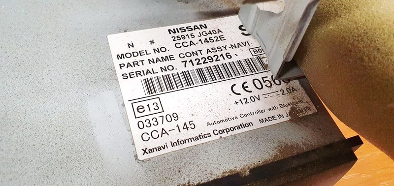 CD player NAVIGATION Nissan X-Trail 2009    0.0 25915jg40a