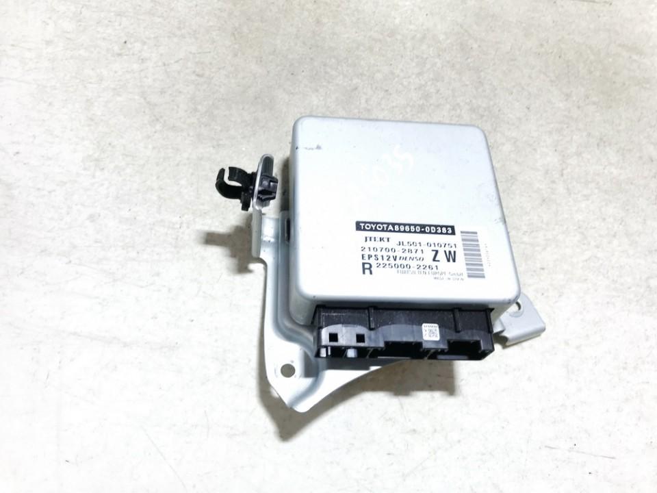 Power Steering ECU (steering control module) Toyota Yaris 2018    1.5 2107002871