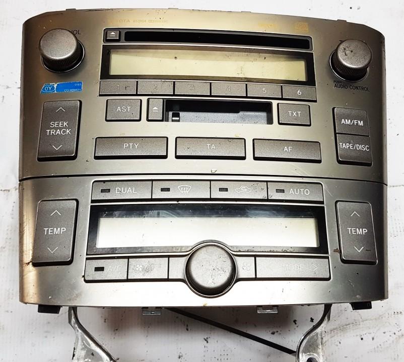Peciuko valdymas ir automagnetola Toyota Avensis 2006    2.0 8612005081