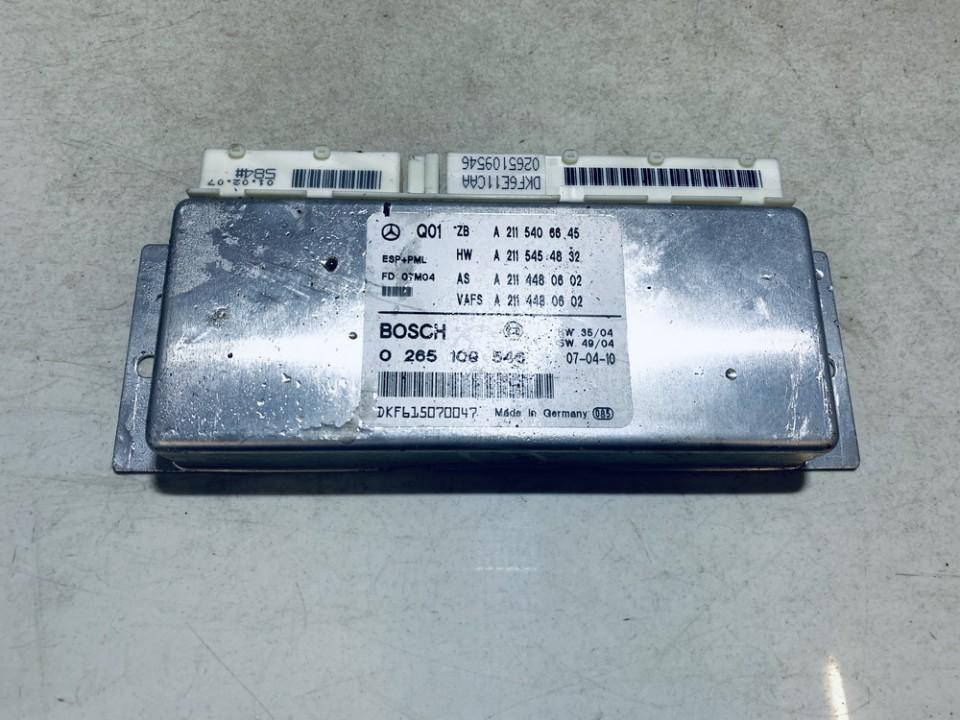 ESP Control Unit Mercedes-Benz E-CLASS 2005    2.2 A2115406645
