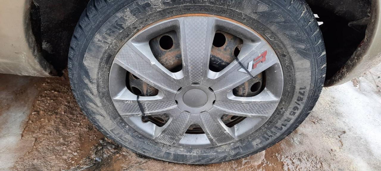 Skardiniu ratu komplektas R14 Nissan Micra 2003    1.2 used