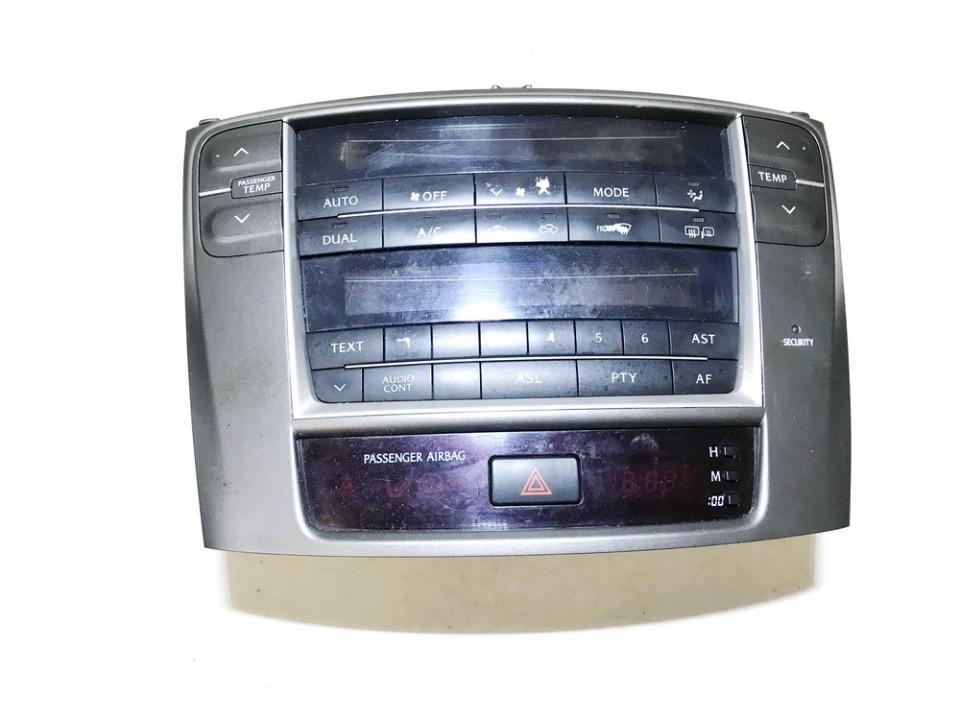 Peciuko valdymas ir automagnetola Lexus IS - CLASS 2006    2.2 used