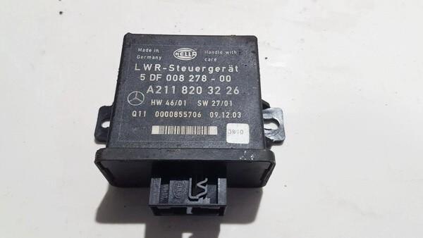 Switch, Headlight (LIGHT CONTROL MODULE) Mercedes-Benz E-CLASS 2004    2.7 A2118203226