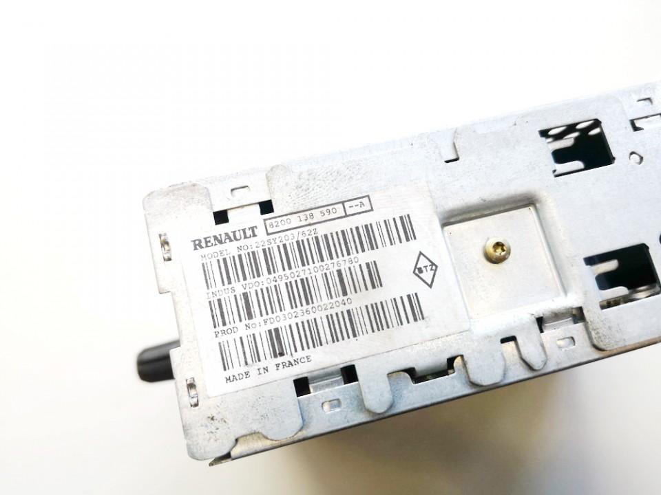 CD player NAVIGATION Renault Vel Satis 2002    3.5 8200138590a