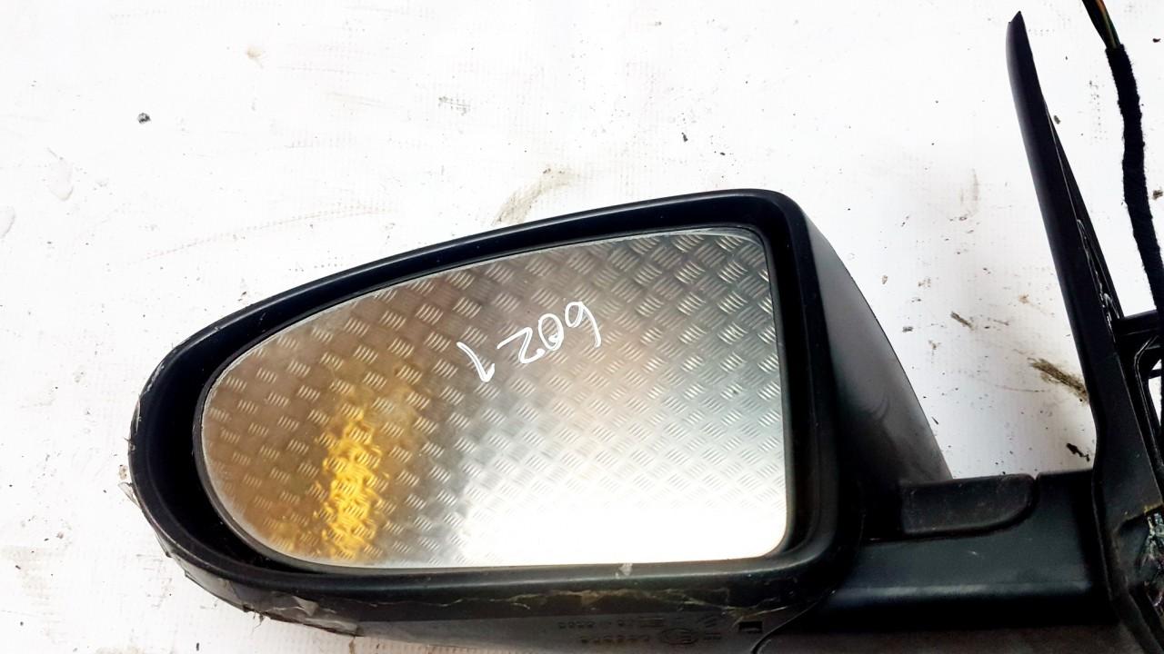 Duru veidrodelio stikliukas P.K. (priekinis kairys) Nissan Qashqai 2008    2.0 USED