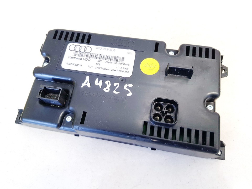 Navigacijos ekranas Audi A6 2007    2.0 4f0919603