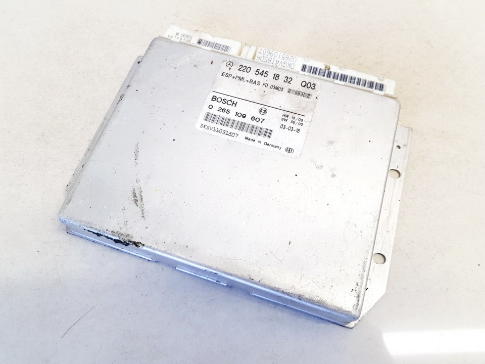 ESP Control Unit Mercedes-Benz S-CLASS 2002    3.2 2205451832