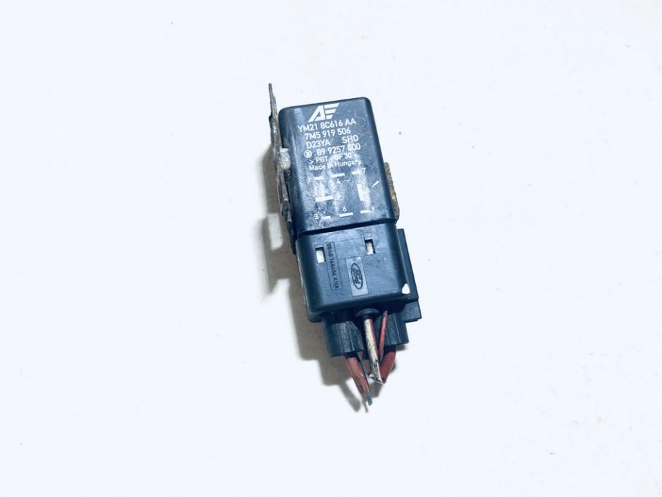 Blower Fan Regulator (Fan Control Switch Relay Module)  Volkswagen Sharan 2006    1.9 7m5919506