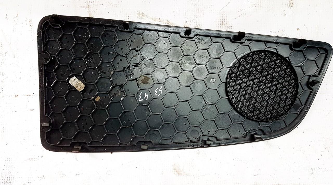 Garso koloneles dangtelis G.K. Audi A8 2013    4.2 4H0863487A