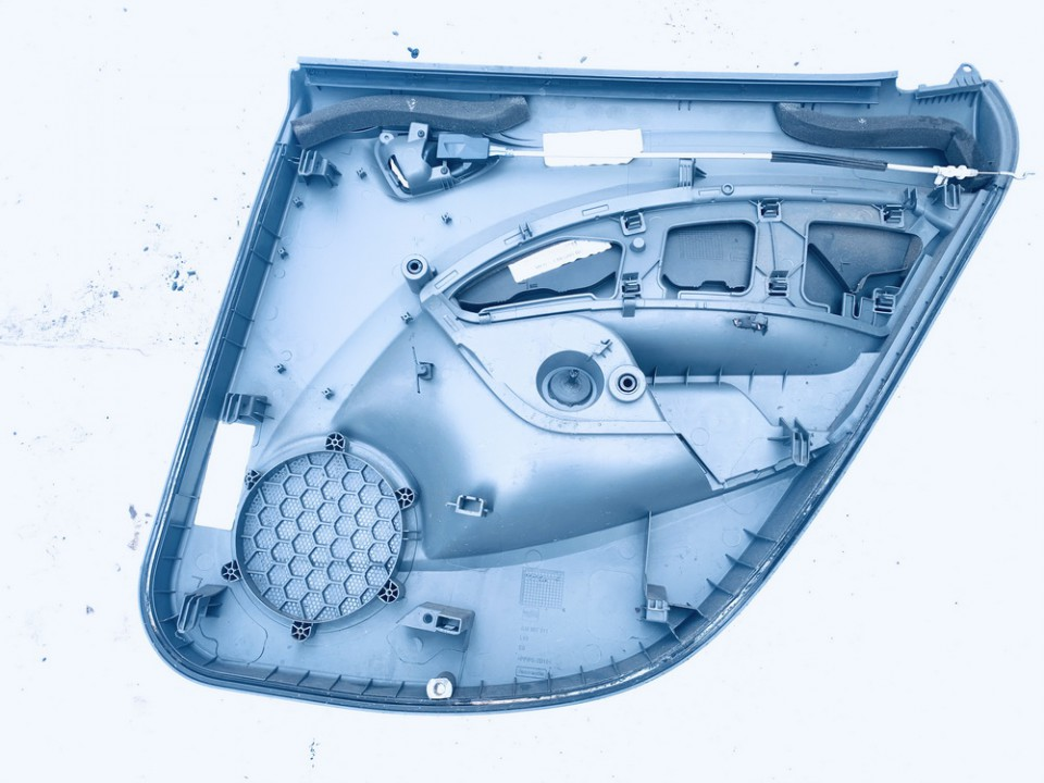 Duru apmusimas (apdaila-absifkes)  G.K. Seat Ibiza 2011    1.4 6j4867211