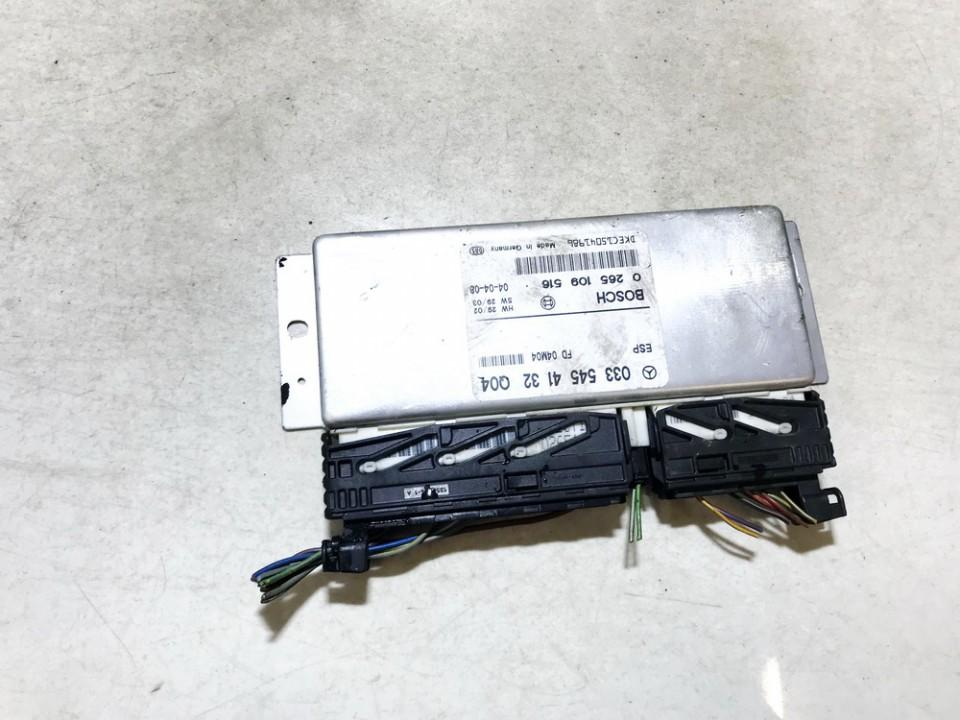 ABS kompiuteris Mercedes-Benz E-CLASS 2004    2.2 0335454132