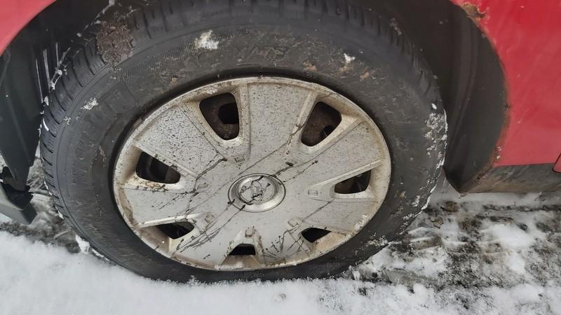 Skardiniu ratu komplektas R14 Ford Fiesta 2006    1.4 used