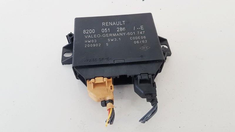Control Unit Parking (Parking Assist Module) Renault Vel Satis 2002    3.5 8200051286e