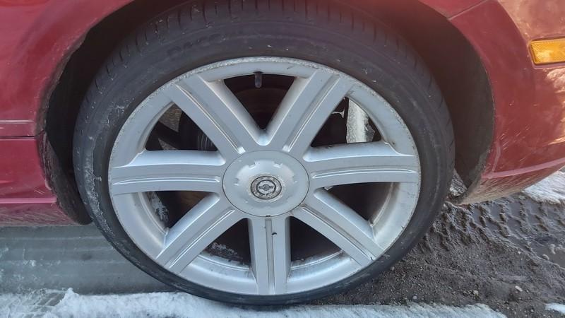 Lietu ratu komplektas R19 Chrysler Crossfire 2004    3.2 used