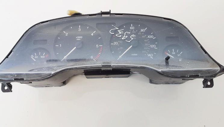 Opel  Zafira Spidometras - prietaisu skydelis