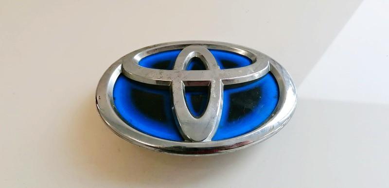 Priekinis zenkliukas (Emblema) Toyota Yaris 2016    0.0 753010d130