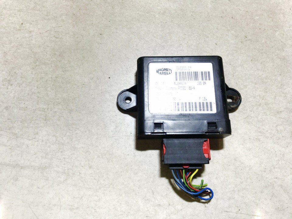 Fuel Injection ECU (Injector ECU) Peugeot 307 2004    2.0 9651212180