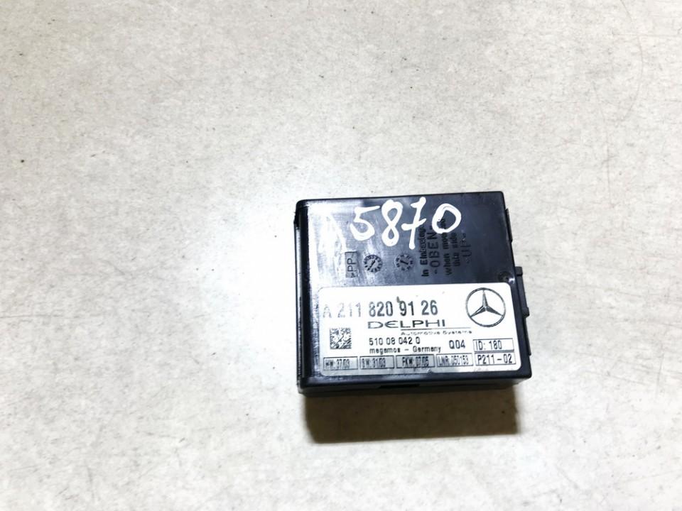 Signalizacijos blokelis Mercedes-Benz CLK-CLASS 2005    3.2 a2118209126