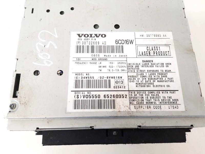 CD changers Volvo V50 2006    2.0 30732669ad