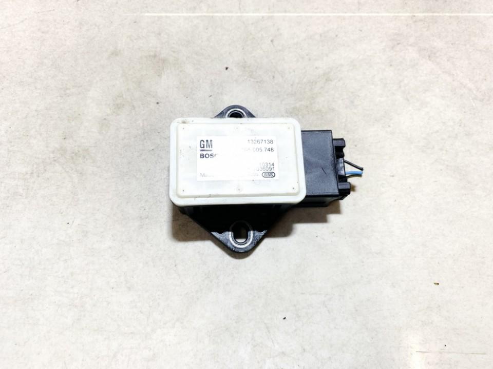 Esp Accelerator Sensor (ESP Control Unit) Opel Meriva 2011    1.7 13267138