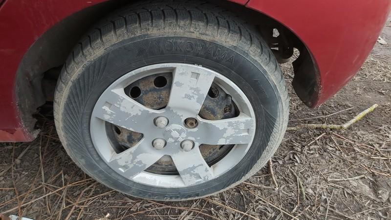 Skardiniu ratu komplektas R14 Chevrolet Kalos 2006    1.2 used