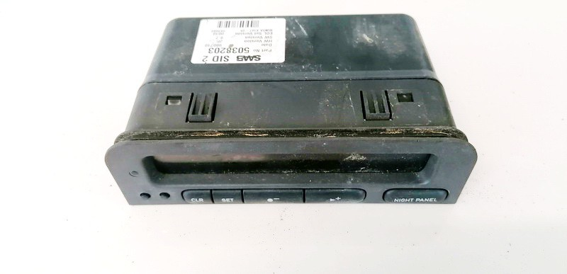 Dashboard Radio Display (Clock,Info Monitor,BORD COMPUTER) SAAB 9-3 2000    2.0 5038203