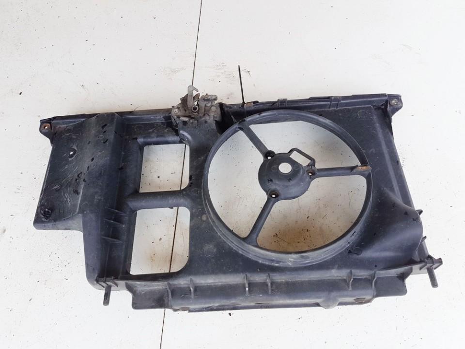 Difuzoriaus remas (ventiliatoriaus remas) Peugeot 206 2003    1.4 9631006580