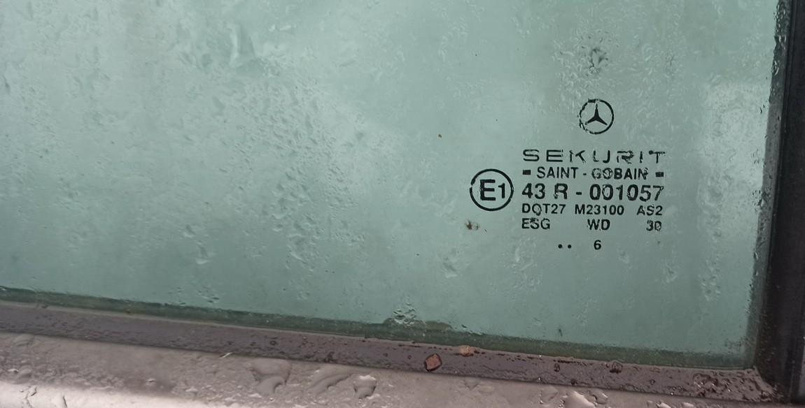 Duru fortkute G.D. Mercedes-Benz C-CLASS 1996    2.2 Pilka