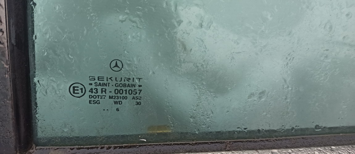 Duru fortkute G.K. Mercedes-Benz C-CLASS 1996    2.2 Pilka