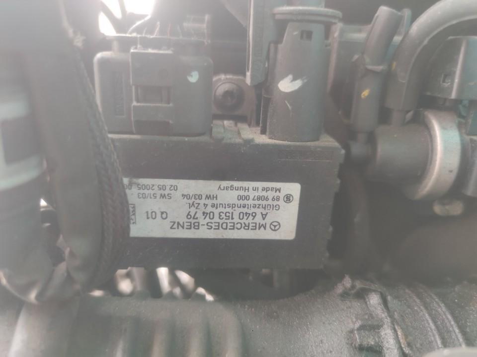 Glow plug relay Mercedes-Benz A-CLASS 2005    2.0 a6401530479