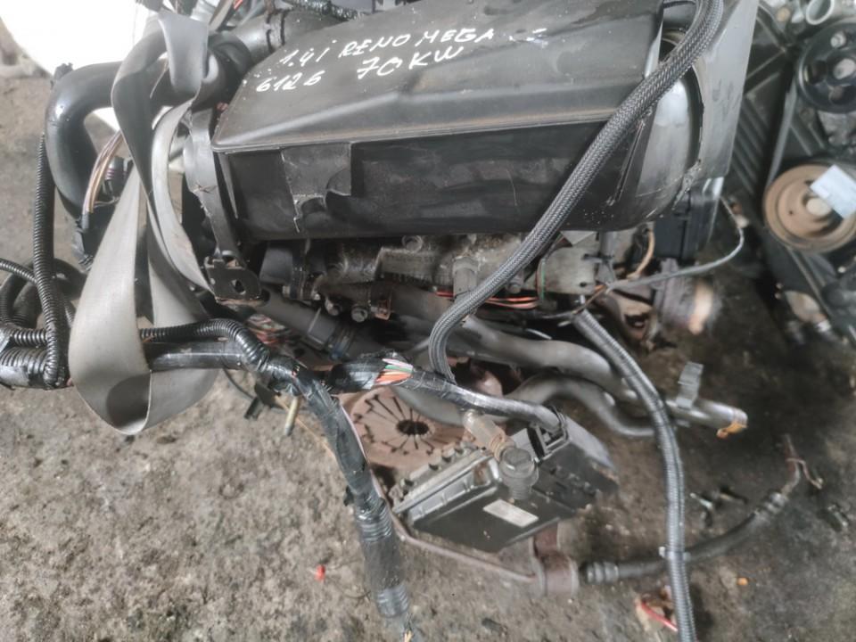 Variklis Renault Megane 2001    1.4 K4JC750