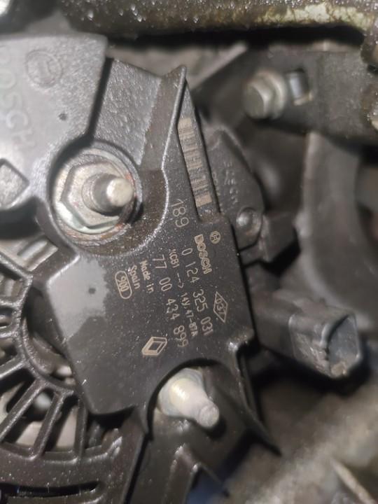Generatorius Renault Megane 2001    1.4 0124325031