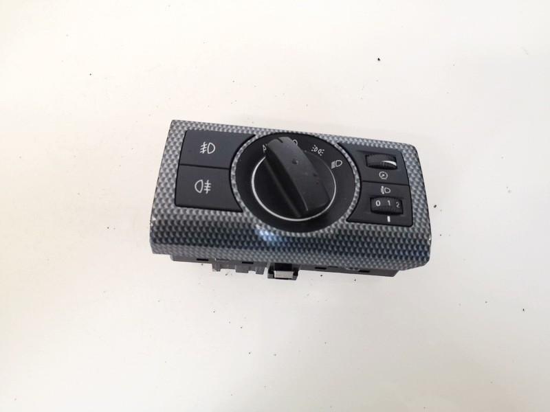 Headlight adjuster switch (Foglight Fog Light Control Switches) Opel Antara 2008    2.0 96672895070425