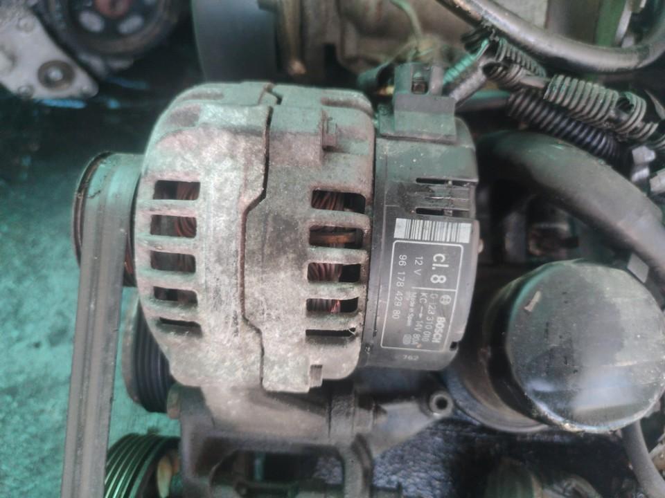 Generatorius Citroen Berlingo 1997    1.9 0123310010