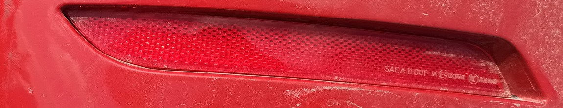 Bamperio atsvaitas G.K. BMW 4-Series 2015    3.0 Raudona