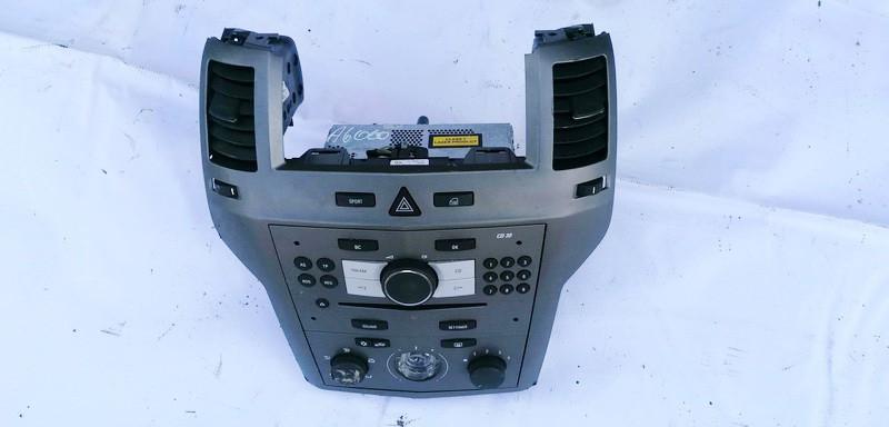 Peciuko valdymas ir automagnetola Opel Zafira 2007    1.9 497316088