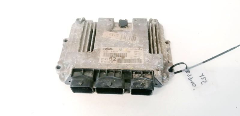 ECU Engine Computer (Engine Control Unit) Peugeot 206 2002    1.4 9646559980