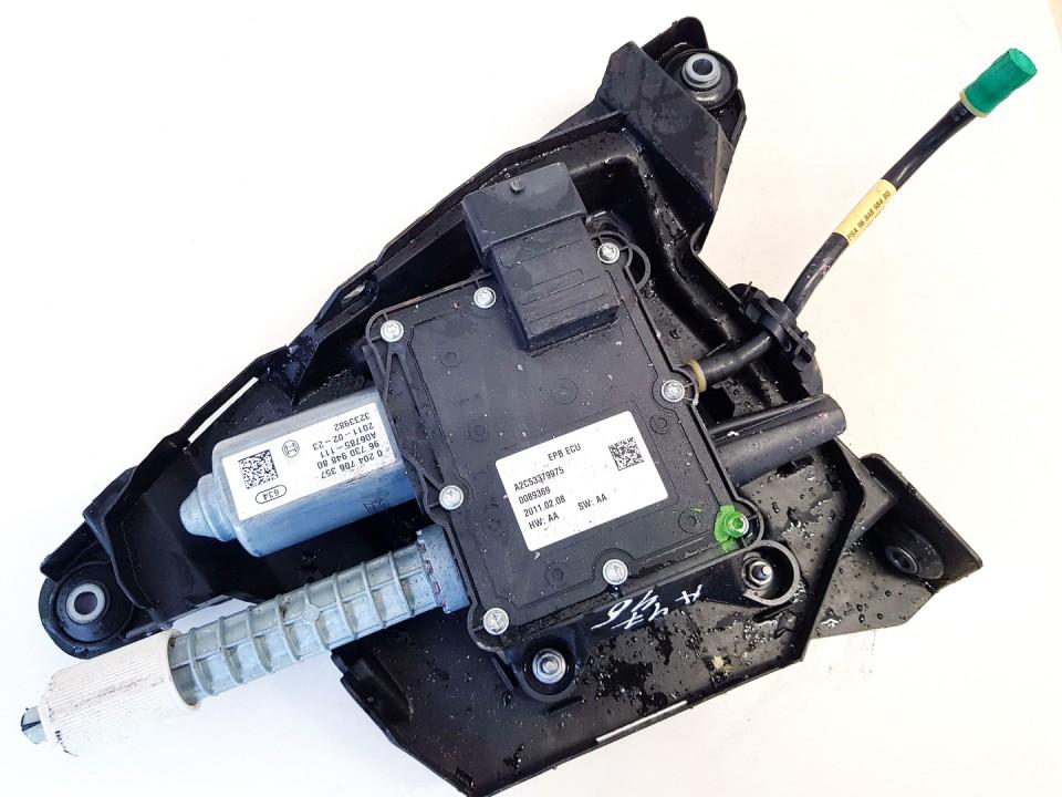 Rankinio stabdzio mechanizmas Peugeot 3008 2011    1.6 a2c53379975